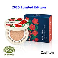 [ Innisfree ] Ampoule Intense Cushion SPF34 PA++ 15g Limited Edition(New2015), Korean Best Cosmetics, Free Shipping