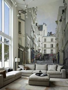 murales para interiores, un efecto increible!