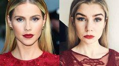 CLAIRE HOLT '47 METERS DOWN' RED CARPET MAKEUP #claireholt #47metersdown #redcarpet #makeup #beauty #inspired #tutorial #rebekahmikaelson