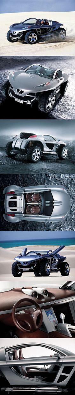 Peugeot Hoggar Silver Concept Car #provestra #conceptcar
