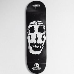Skateboard deck by Skull Skates #skateboard #blackandwhite