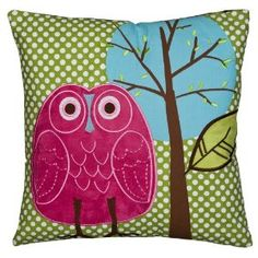 Owl pillows for the VW bus