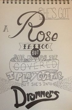 5 Seconds Of Summer: Try Hard Lyrics Art!