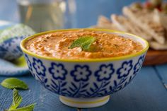 Kopanisti dip - with feta, mint leaves