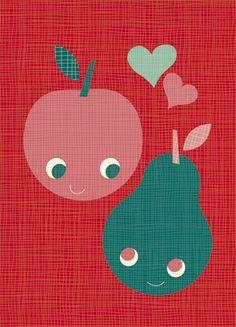 Miss Honeybird - Valentine fruit