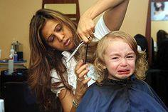 grooming toddler hair
