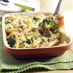 Gegratineerde Penne Met Zalm En Broccoli recept | Smulweb.nl