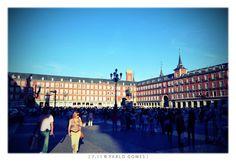 Plaza Mayor [2011 - Madrid - Espanha / España / Spain] #fotografia #fotografias #photography #foto #fotos #photo #photos #local #locais #locals #cidade #cidades #ciudad #ciudades #city #cities #europa #europe #turismo #tourism #arquitectura #architecture