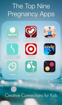 Les comparto este top de Apps que puede tener toda madre en su teléfono inteligente #apps #pregnancy #woman