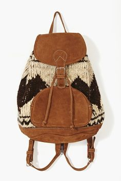 Flores Backpack in Wool