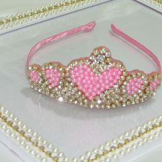 Coroa coração princesas