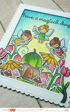 "Hello everybody! Welcome back to the Marker POP blog, today I'm sharing with you a card using the new ""Fairy Friends"" stamp and coordinated die set by Lawn Fawn! This set is adorable, I love it, I think it complements great many of the other Lawn Fawn set , I have great ideas to combine it …"