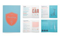 Print Collateral, Event Booklet and Infographics: Cycle Kids, Breakaway. Project…