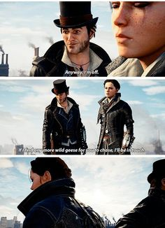 Assassins Creed Syndicate: Jacob and Evie Frye Humour (Dialogue)