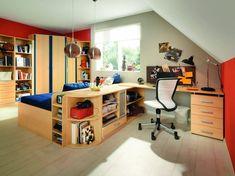 Diseños de dormitorios para adolescentes modernos