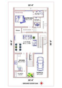 10 Marla House Plan, 2bhk House Plan, Model House Plan, Simple House Plans, House Layout Plans, Best House Plans, Duplex House Design, House Front Design, Duplex Floor Plans