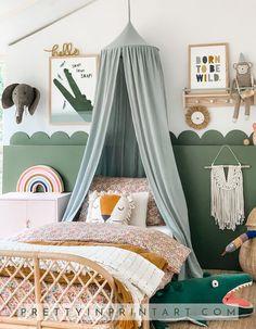 Nursery Decor, Bedroom Decor, Playroom Decor, Safari Nursery, Nursery Art, Ideas Habitaciones, Jungle Room, Kids Room Design, Big Girl Rooms