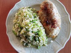 Zucchini Risotto - replace risotto with Riced cauliflower