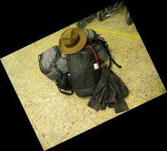 Minha bagagem e meu chapéu