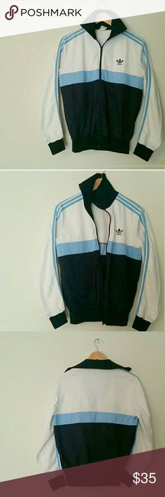 Vintage adidas track jacket Perfect vintage condition! Fits like woman's medium/men's small adidas Jackets & Coats