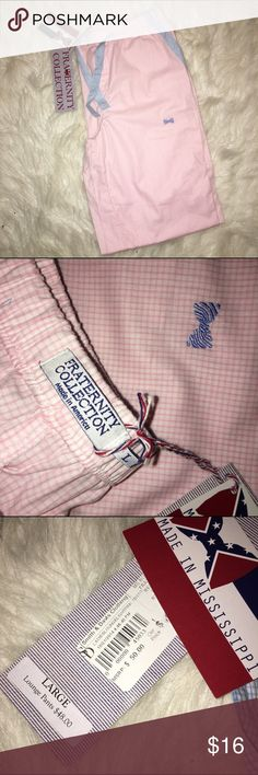NWT Pajama Pants Fraternity collection pajama pants. So cute! fraternity collection Pants