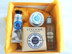My L'Occitane free gifts with No Purchase Necessary