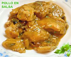 Spanish Dancer by Pino Crockpot Recipes, Diet Recipes, Chicken Recipes, Cooking Recipes, Healthy Recipes, Cuban Dishes, Tasty Dishes, My Favorite Food, Favorite Recipes