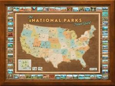 ENJOY VISITING OUR NATIONAL PARKS, AND TRACKING YOUR TRAVELS ON THIS UNIQUE MAP! This map set includes stickers to light the campfires for every park you have visited. A unique gift for any outdoor en