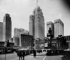 AS DETROIT GREW, SO DID ITS BUILDINGS