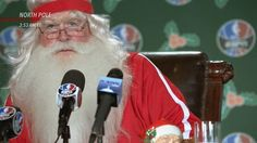 Santa Claus quiere jugar en la NBA