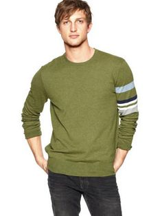 Green sweater from Gap