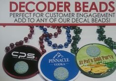 Decoder Beads #Tradeshows #Prizes #Promotions