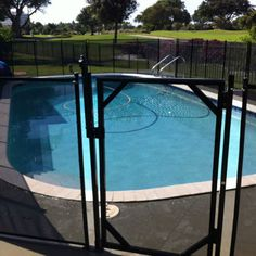 Water Warden Pool Safety Fence Diy Kit For In Ground Pools Home Depot Ideas Don