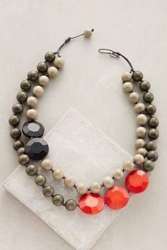Sylca Rekenrek Layered Necklace