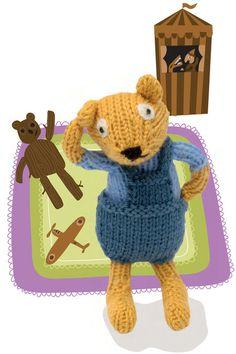 Baby Bear Doll (Free Knitting Pattern) - craftfoxes.com