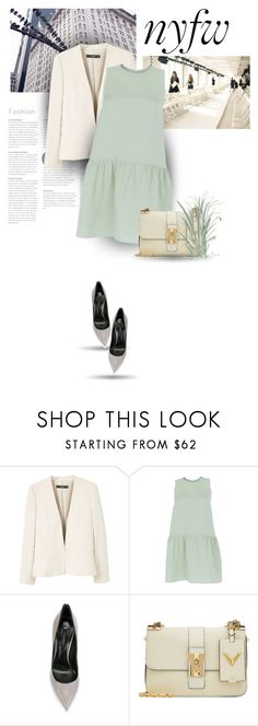 """What to Pack: NYFW"" by bliznec ❤ liked on Polyvore featuring MANGO, Valentino and Casadei"