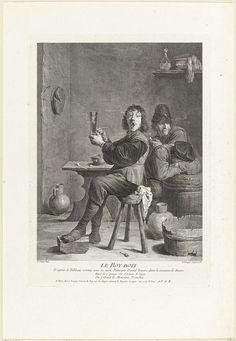 Louis Surugue | Le Roy Boit, Louis Surugue, David Teniers, 1696 - 1762 |