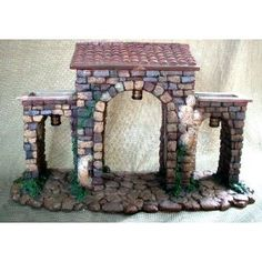 Roman Fontanini Town Gate Heirloom Wall 50606
