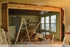 Load Bearing Wall Removed Header Installed