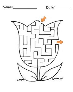 All the free printable graphics you need for Printable Mazes ! Find a printable like Printable Circle Maze Games and much more. Science Worksheets, Worksheets For Kids, Printable Mazes, Free Printables, Maze Worksheet, Maze Game, Best Teacher Ever, Free Plants, Labyrinths
