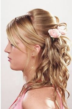 Brilliant Junior Bridesmaids Updos And Curly Hair On Pinterest Hairstyle Inspiration Daily Dogsangcom