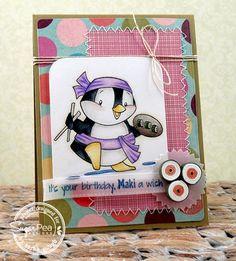 Maki a Wish!, Sarah Gough, Sugar Pea Designs stamp