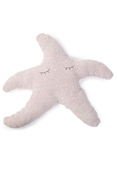 Barefoot Dreams Starfish CozyChic Dusty Rose Tooth Fairy Pillow