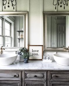 33 The Key To Successful Master Bathroom Vanity Double Sink Joanna Gaines 35 - Modern Decor, Home, Master Bathroom Decor, Teal Bathroom Decor, Bathroom Makeover, Master Bathroom Vanity, Rustic Master Bathroom, Bathroom Design, Joanna Gaines Bathroom