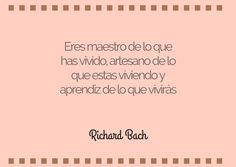 Richard Bach #bibliotecaugr #citas #RichardBach