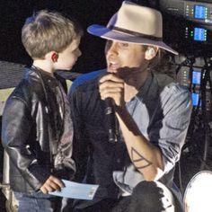 Mark Colleameno , He's only 4 , so cute @jaredleto #mars #churchofmars