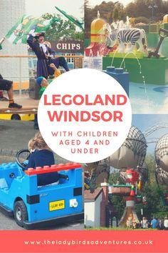 Legoland Windsor with under 4's