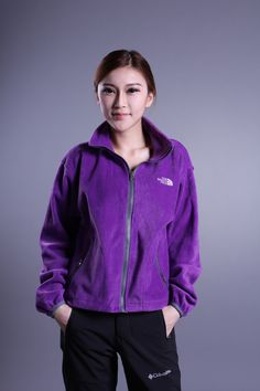 The North Face Osito Fleece Womens Jackets Court Purple $68.99