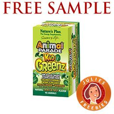 Free Sample Animal Parade Children's Chewable Vitamins