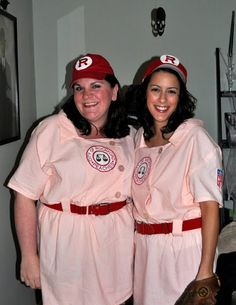 Best Halloween Costume!!! Rockford Peaches!